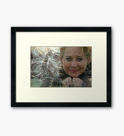Please Come True Framed Print