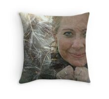 Please Come True Throw Pillow