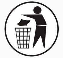 Recycle / Rubbish Icon by tshirtdesign