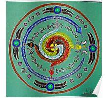 Transmuting Poison Mandala Poster