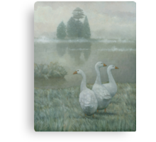 The Three Geese Canvas Print