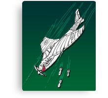 Dropping Spitfire Canvas Print