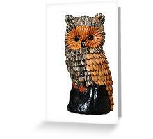 Seed Owl Greeting Card
