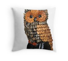 Seed Owl Throw Pillow