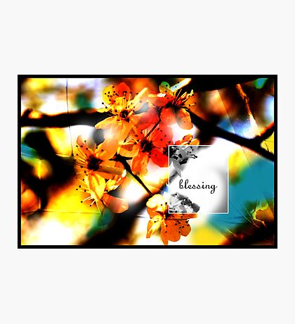 Blessing Photographic Print