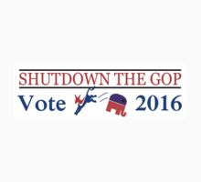 SHUTDOWN THE GOP 2016 by colormecolorado