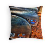 Canoe Launch Throw Pillow