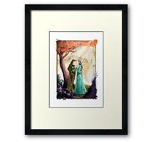 Aragorn and Arwen in Rivendell Framed Print