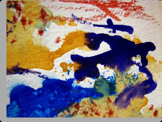 Watercolor Fiesta by Kathie Nichols
