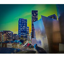 Downtown Pastel Photographic Print