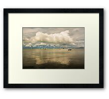 Cloud reflection - Camerons Bight - Sorrento/Blairgowrie Framed Print