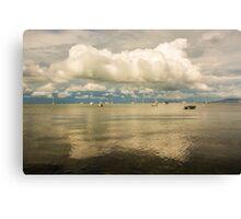 Cloud reflection - Camerons Bight - Sorrento/Blairgowrie Canvas Print