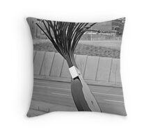 Giant Eraser Throw Pillow