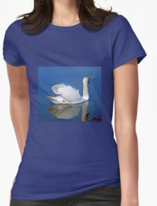 Mirror Image .......... Womens Fitted T-Shirt