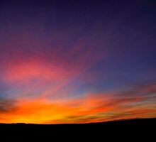 Desert sunset Photographed in Israel, Negev by PhotoStock-Isra