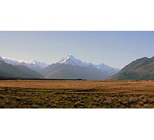 Mount Cook at Sunset Photographic Print