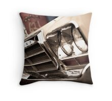 Old Chrysler Throw Pillow
