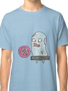 Naked Zombie with a Frisbee Classic T-Shirt
