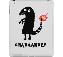 Charmander Tattoo t-shirt iPad Case/Skin