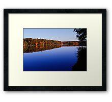 Bear Creek Lake Revisited Framed Print