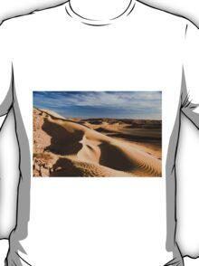 wind shaped Desert sand dune T-Shirt