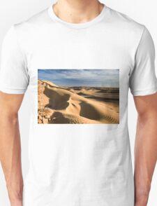 wind shaped Desert sand dune Unisex T-Shirt