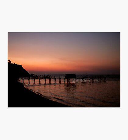 Shelly beach,Mornington Pennisula Photographic Print