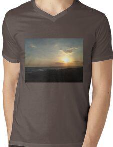 Aiya Napa Sunset Mens V-Neck T-Shirt