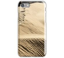 wind shaped Desert sand dune iPhone Case/Skin