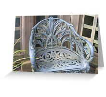 """A """"Lily-of-the-Valley"""" Chair Greeting Card"""