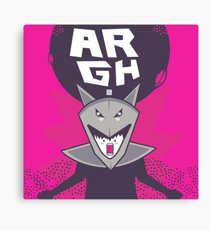 argh Canvas Print