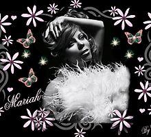 mariah pink flowers by CINDYLOU951