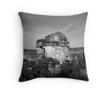 Ruined Lighthouse Jervis Bay Throw Pillow
