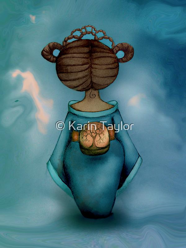 Legend of Little Geisha by © Cassidy (Karin) Taylor