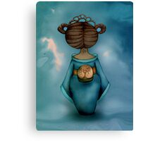 Legend of Little Geisha Canvas Print
