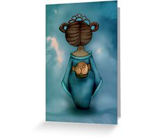 Legend of Little Geisha Greeting Card