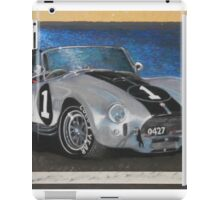 AC Cobra - isometric view iPad Case/Skin