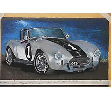 AC Cobra - isometric view Photographic Print