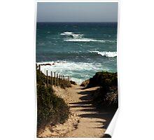 Koonya Ocean Beach,Mornington Pennisula Poster