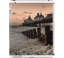Pier and long exposure iPad Case/Skin