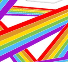 Strokes of Colours Sticker
