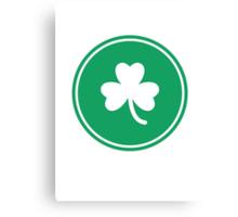 NBA: Boston Celtics - full green Canvas Print