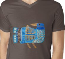 Blue Bird Tee Mens V-Neck T-Shirt