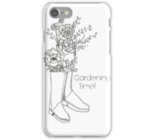 Gardening Time iPhone Case/Skin