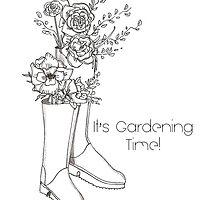 Gardening Time by ilariav