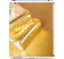 gold ingots iPad Case/Skin
