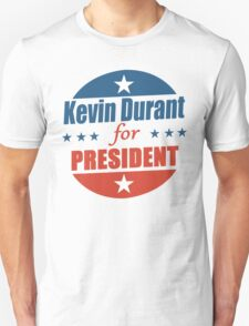 Kevin Durant for PRESIDENT T-Shirt