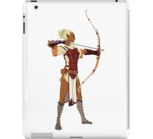 Female RPG Archer iPad Case/Skin