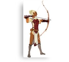 Female RPG Archer Canvas Print