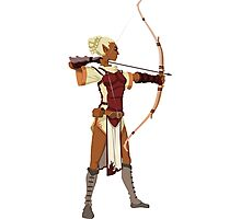 Female RPG Archer Photographic Print